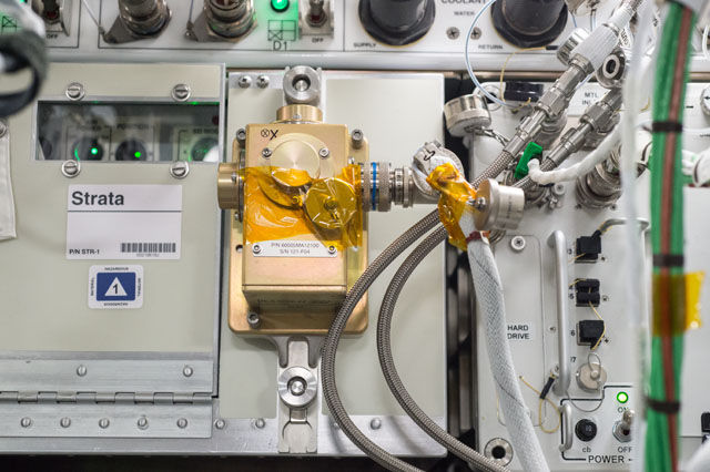 International Space Station astronauts offer feedback on Aggie-built machine used to study space dirt