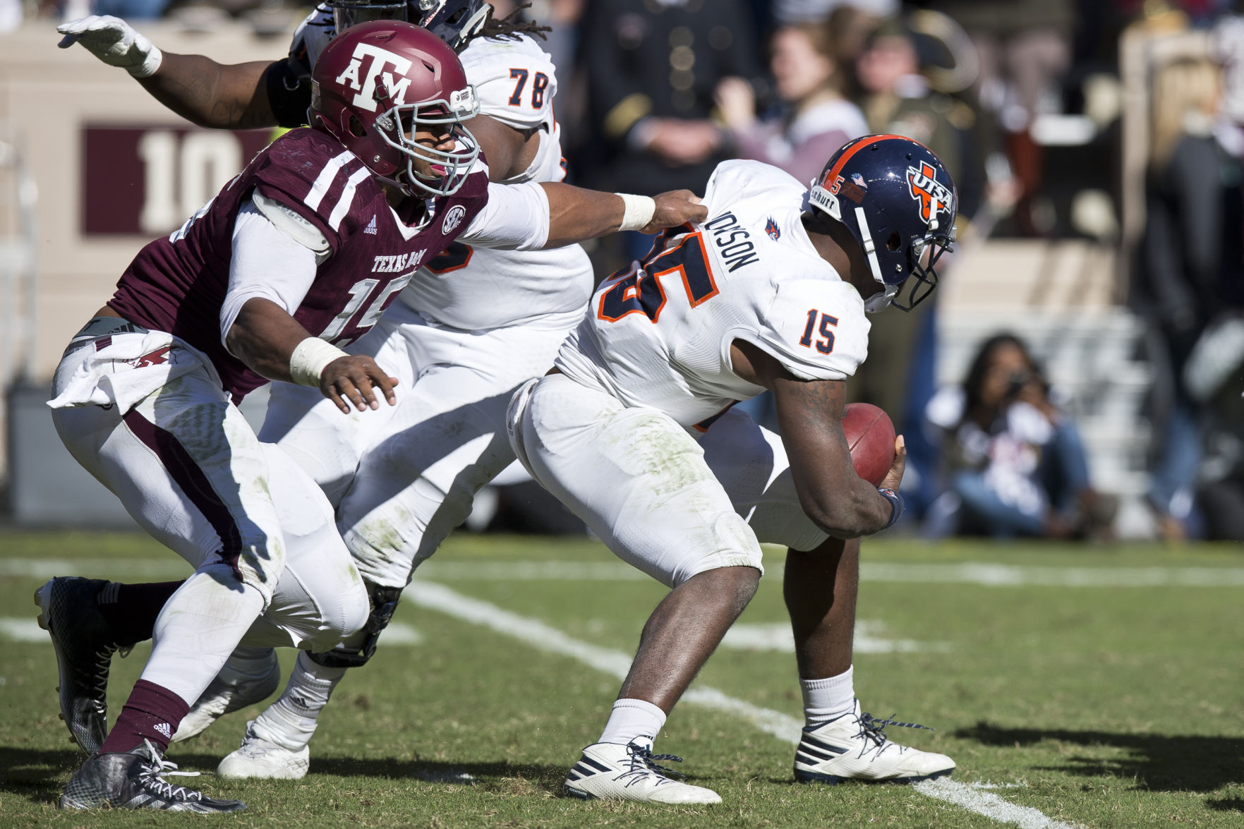 Cessna: Aggies Not Sweating Over Lack Of Style Points In UTSA Win