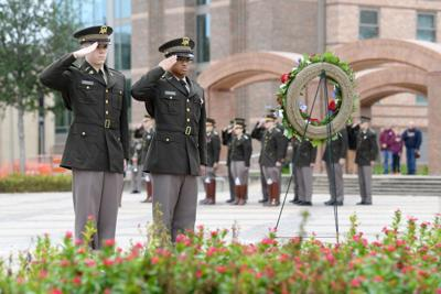Corps of Cadets mark Veterans Day