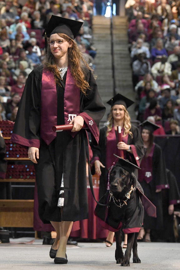 Texas A&M fall commencement
