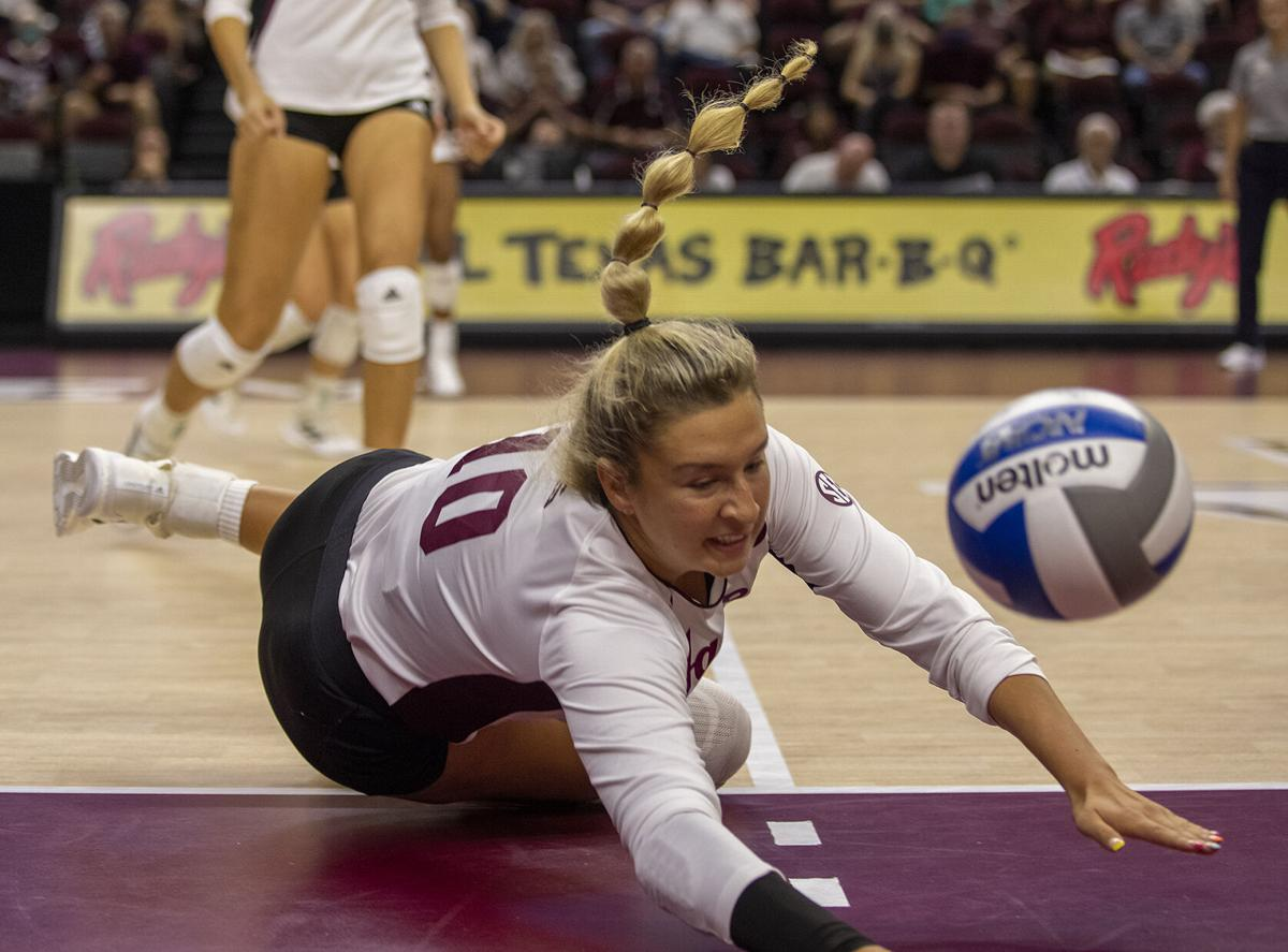 A&M volleyball two for use