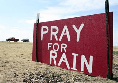 Wordless Wednesday: Pray for rain