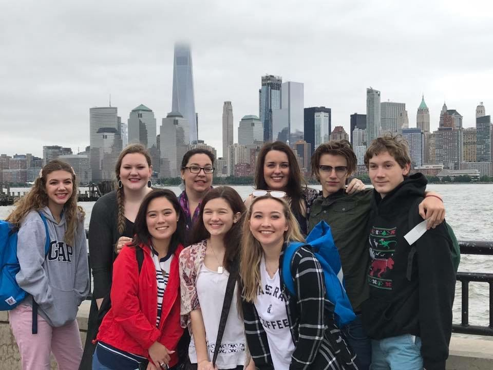 College Station Students Tour New York