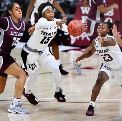 Ag Womens Basketball vs Little Rock