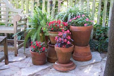 GARDEN SENSE: Container garden