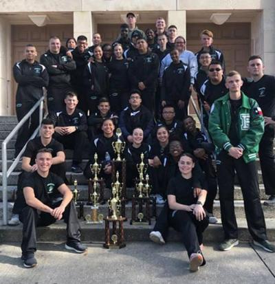 Brenham High Marine Corps Junior ROTC takes first