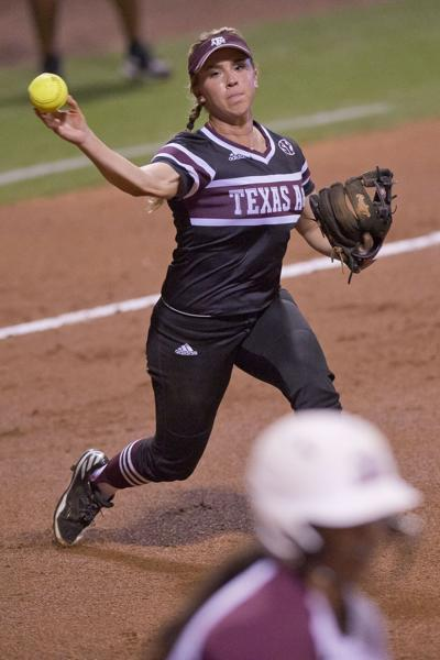 Texas A&M softball team opens NCAA tournament in style (copy)