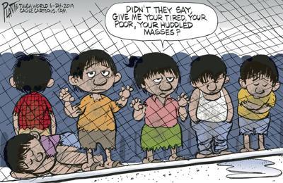 Bruce Plante cartoon: Huddled masses