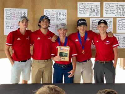 brazos christian boys golf team
