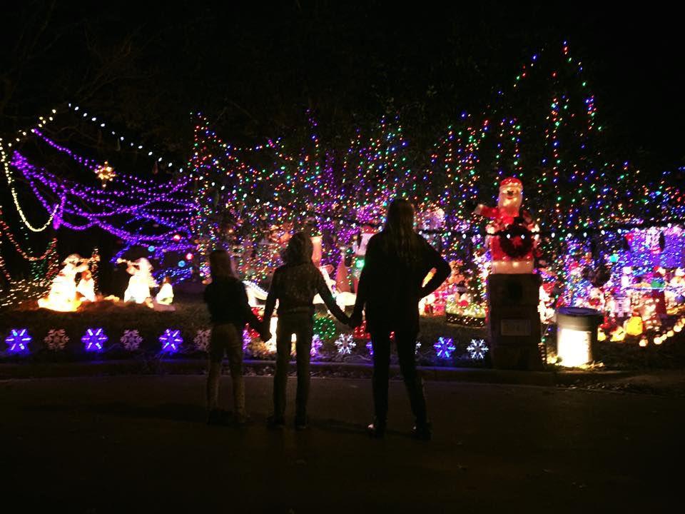 holiday light map local news theeaglecom - Christmas Lights College Station