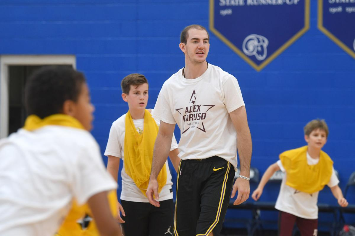 Alex Caruso basketball camp