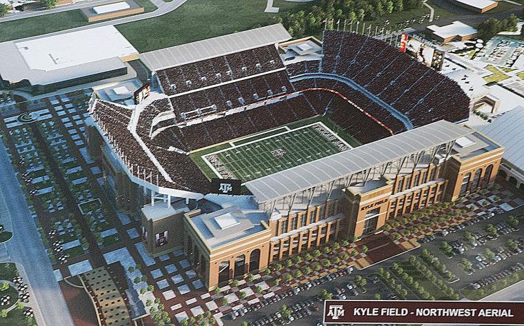 450 Million Renovation Will Make Kyle Field Largest