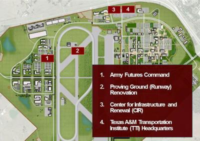 Map Of Texas Am.Texas A M System Plans 130 Million Facility At Rellis Campus For