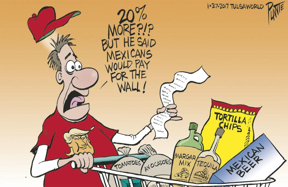 Bruce Plante Cartoon Trump And The 20 Tariff Cartoons