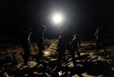 Border immigrants crossing