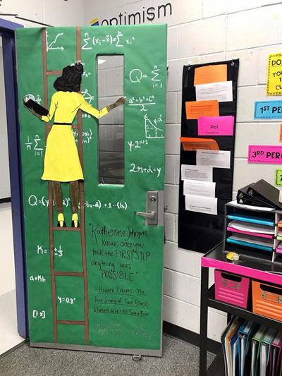 Pictures Of Classroom Design Ideas ~ Bryan high school tribute to katherine johnson goes viral