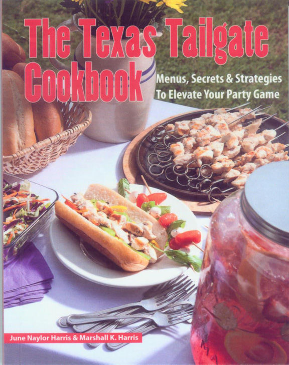 TEXAS READS: Cookbook Boasts Over 50 Tailgating Recipes