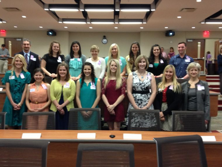 Sigma Theta Tau induction
