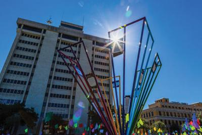 Art project to illustrate ties that bind Bryan-College Station