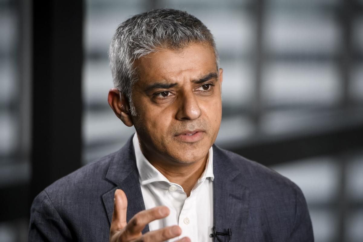London Mayor Sadiq Khan says big tech companies and ...