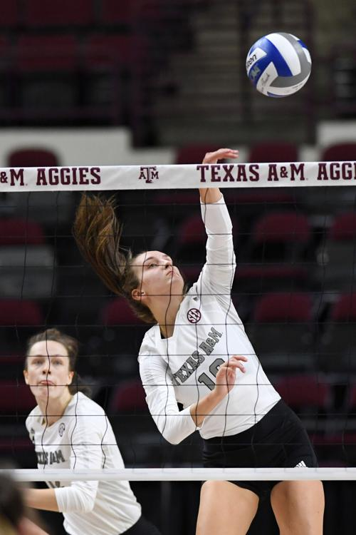 Texas A&M vs. Mississippi State volleyball