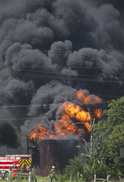 New Baden Oil Well Explodes The Eagle News
