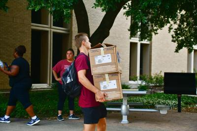 Texas A&M University Move-In Day 2019