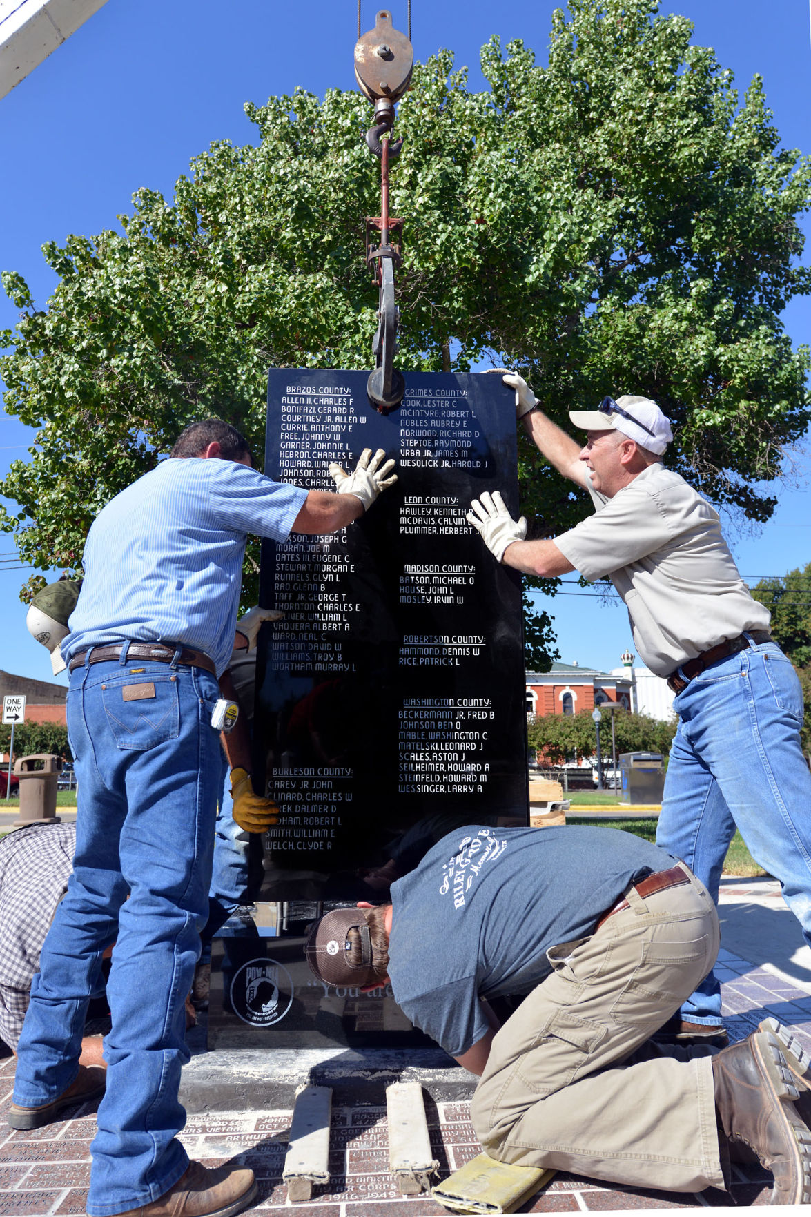 Brazos Valley Vietnam Veterans Memorial finds home after years in the making