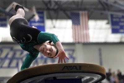 Rudder girls gymnastics