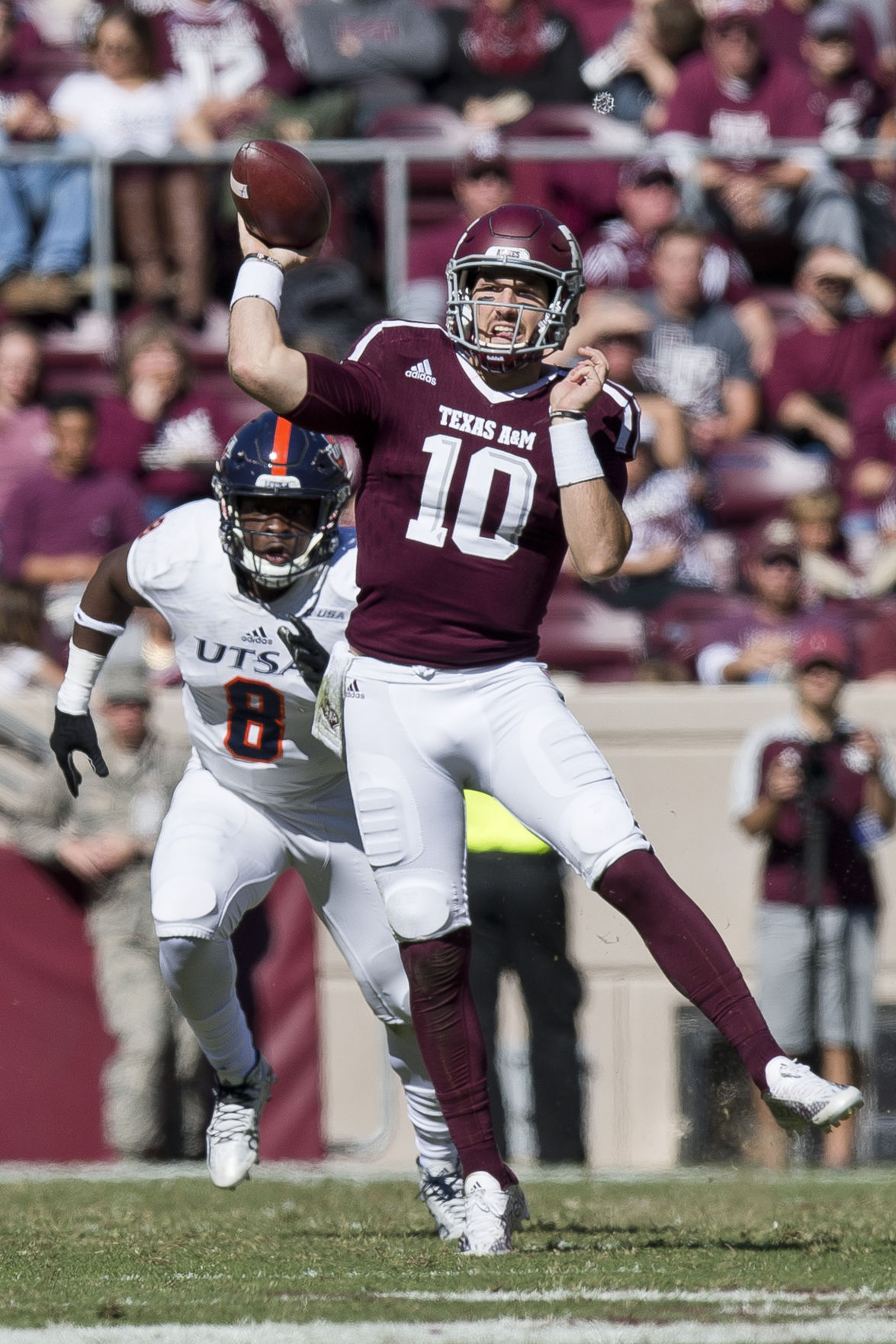 Cessna: Aggies Not Sweating Over Lack Of Style Points In UTSA Win | Aggie  Sports | Theeagle.com