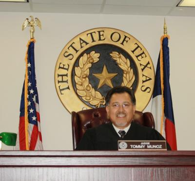 Brazos County Justice of the Peace Tommy Munoz has been honored