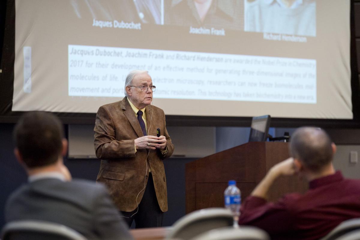 Professors examine Nobel Prize work