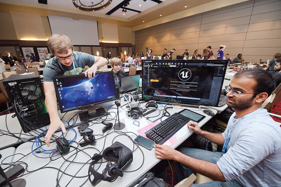 Game on: Texas A&M competition that challenges students to develop video games in 48 hours has grown in four years