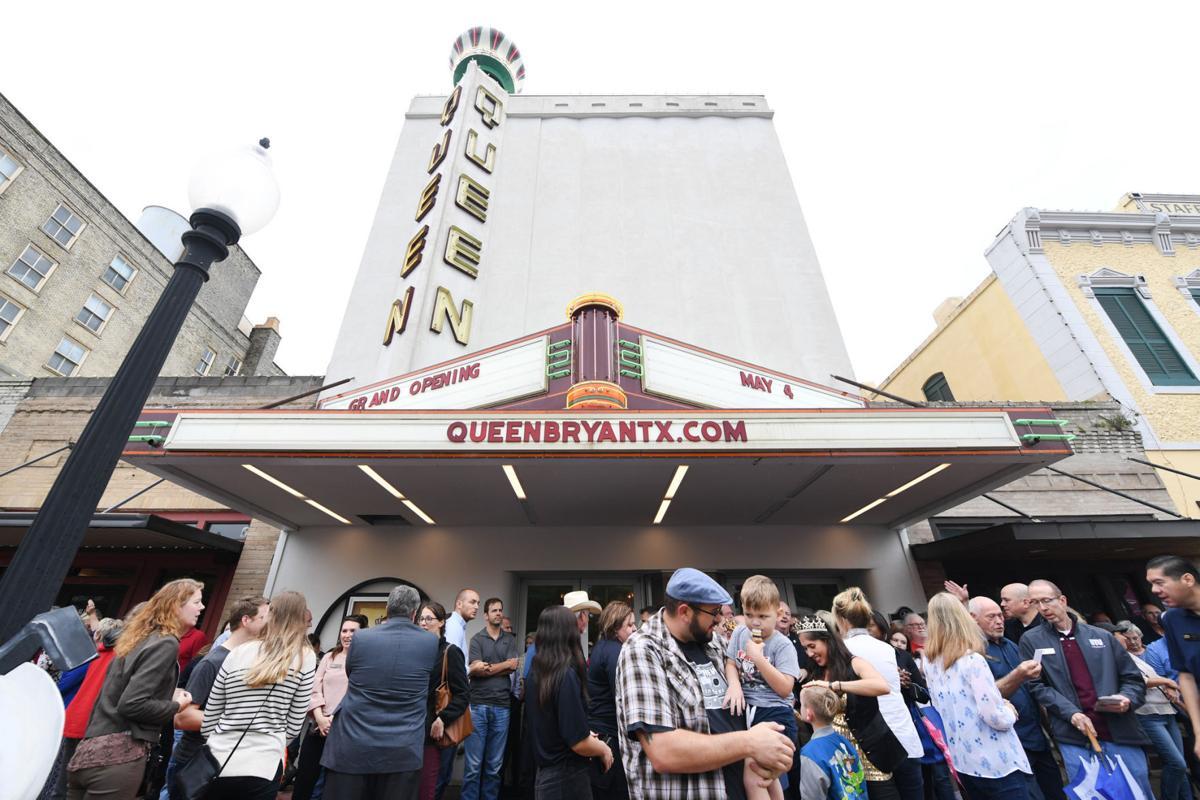 Queen Theatre grand opening