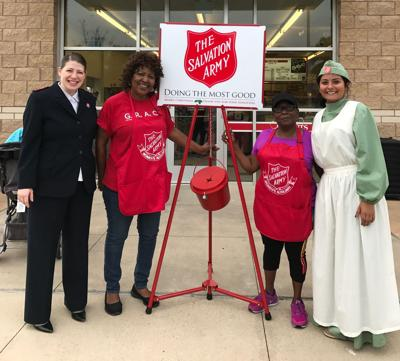 Salvation Army Women S Auxiliary Raises Money On National