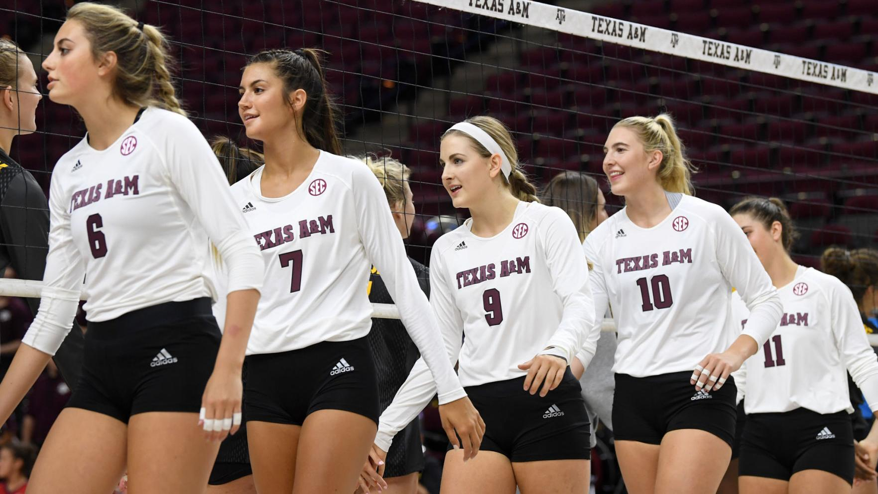 Texas A M Volleyball Team To Host Tournament Starting Thursday Aggie Sports Theeagle Com