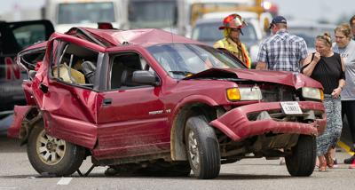 Woman dies after Texas 6 accident