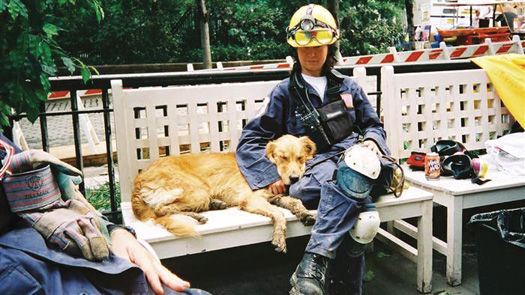 Last 9/11 search and rescue dog honored with hometown statue