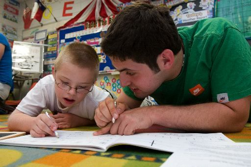 Aggies revel in volunteering with special needs children