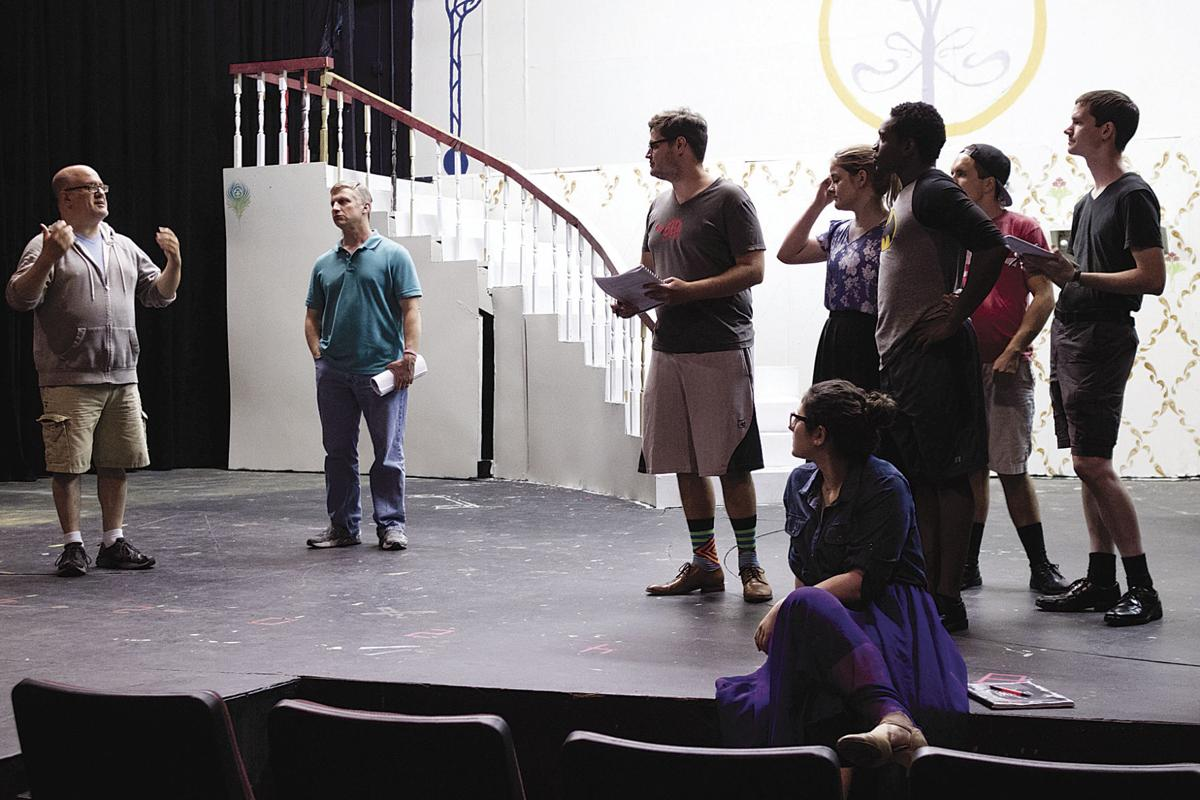 The focus is on The Theatre Company and 'Hello, Dolly!'