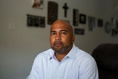 James Whitfield, 43, principal at Colleyville Heritage High School, has been placed on leave by the Garland-Colleyville ISD after being accused of teaching critical race theory at his high school.
