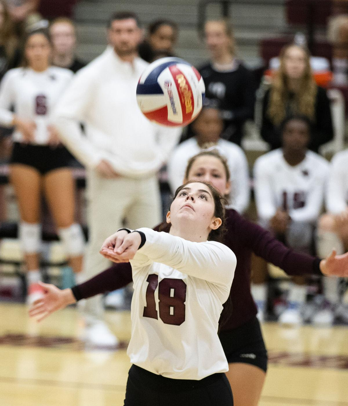 College Station vs. Consol volleyball