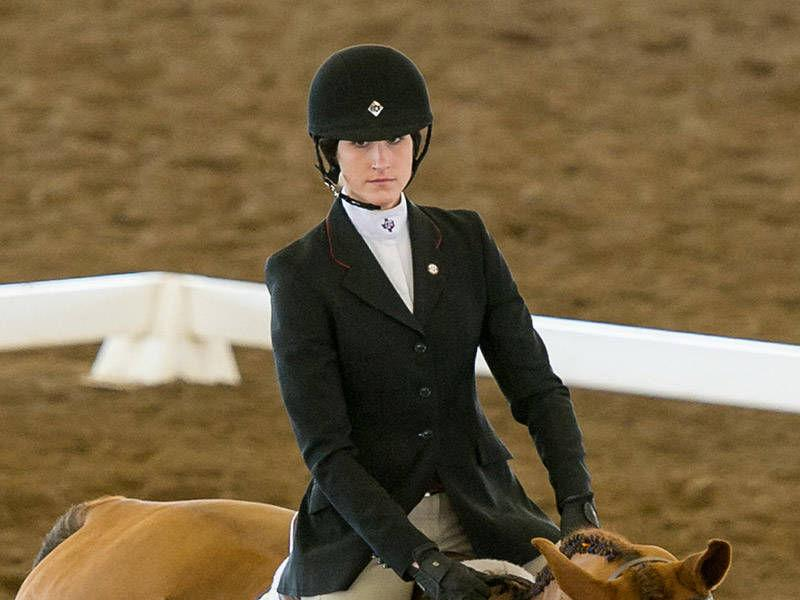 Texas A Amp M Senior Buchmiller Earns All America Equestrian