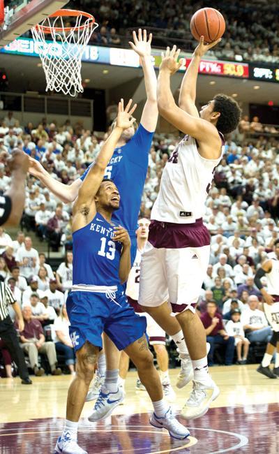 A&M v Kentucky basketball