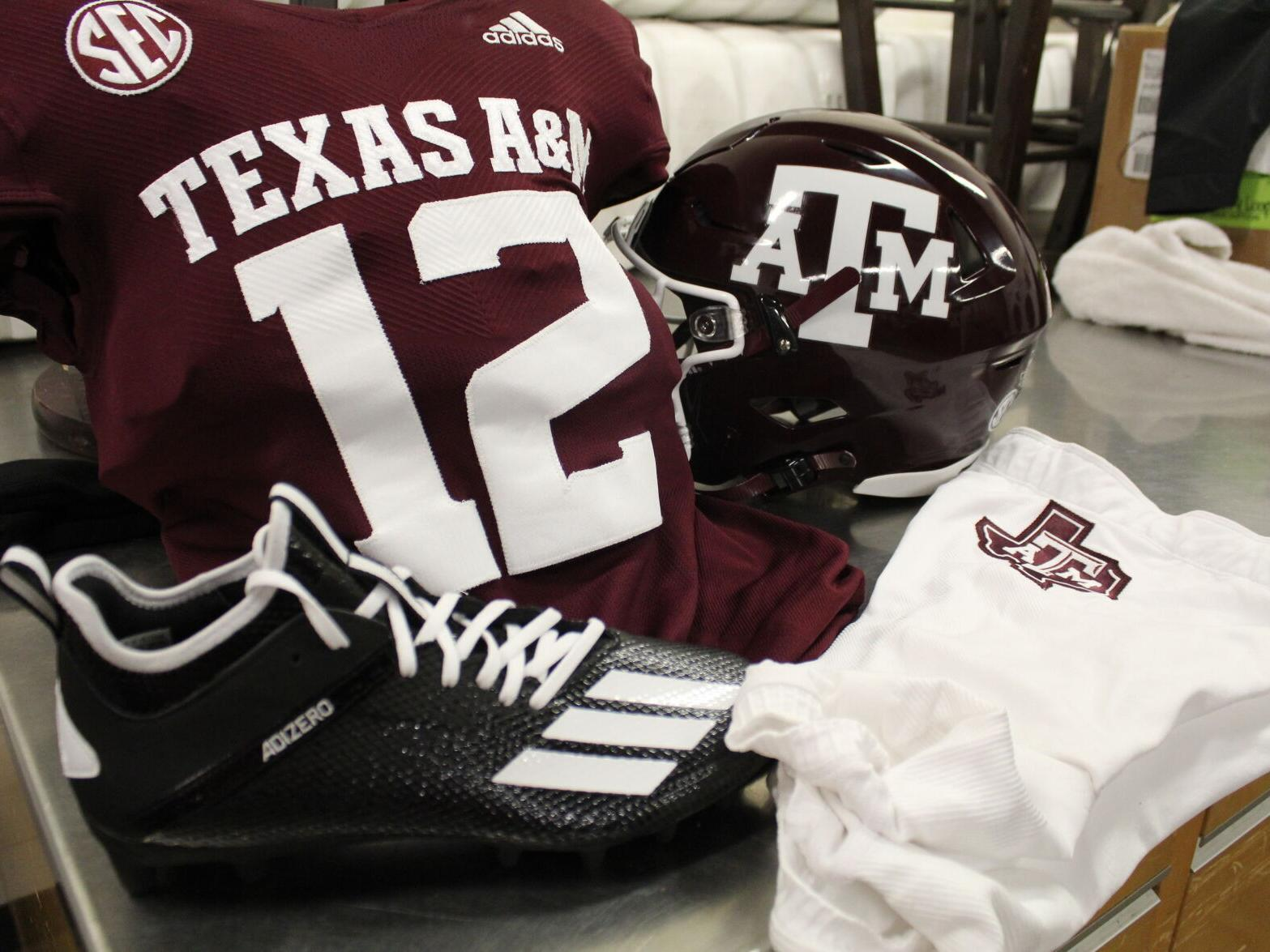 Texas A M S New Football Uniforms Call Back To Classic Look From 1980s And 90s Sports News Theeagle Com