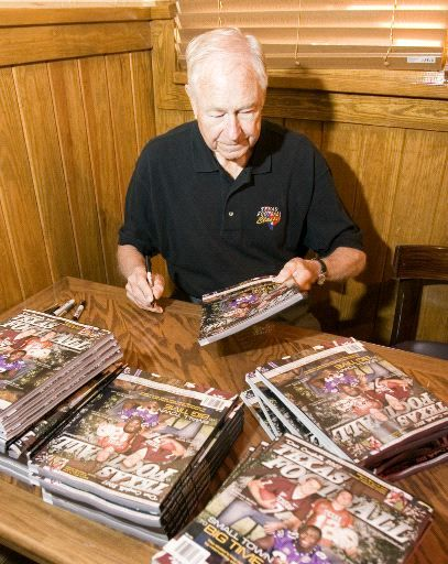 Dave Campbell hits the road to promote high school football