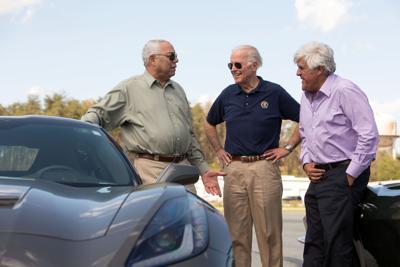 Joe Biden drag-racing Colin Powell is just what we needed - thank Jay Leno