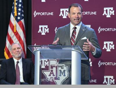 Ross Bjork welcomed to Aggieland (copy)