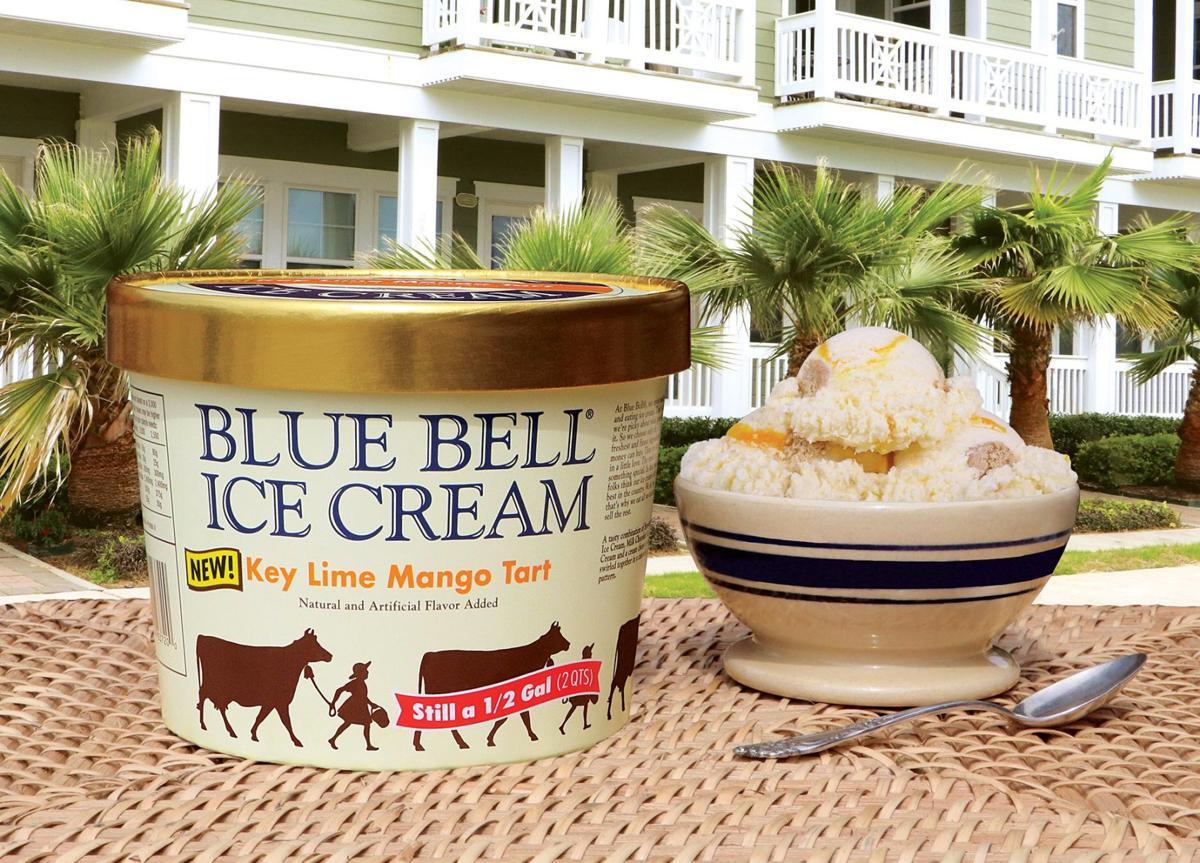 Birthday Cake Ice Cream Cups Towel Mini Cotton Blue Bell