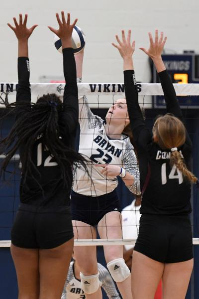 A&M Consolidated at Bryan volleyball (copy)